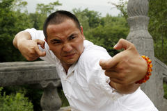 Chinese kung Fu. This is the real Kung Fu, Shaolin Boxing Stock Photo