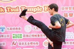 Chinese Kung Fu (Wing Chun) Royalty Free Stock Photography