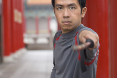Chinese kungfu Royalty Free Stock Photography