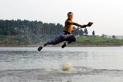Chinese kungfu Stock Fotografie