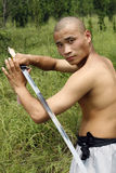 Chinese kungfu Royalty-vrije Stock Fotografie
