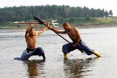 Chinese Kungfu Stock Foto's
