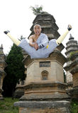 Chinese kungfu Royalty-vrije Stock Foto