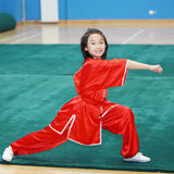 Chinese kungfu child Stock Photos