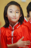 Chinese kungfu child Stock Image