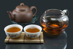 Chinese Kungfu Tea Stock Image