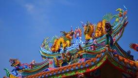 Chinese kunst in de Chinese cultuur van Thailand Royalty-vrije Stock Fotografie