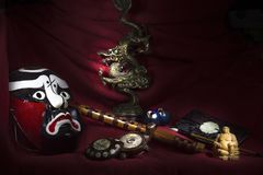 Chinese kunst en cultuur stock afbeelding