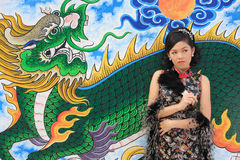 Chinese Lady Royalty Free Stock Photography