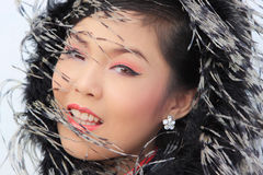 Chinese Lady Royalty Free Stock Photos