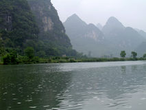 Chinese Lake Royalty Free Stock Photography