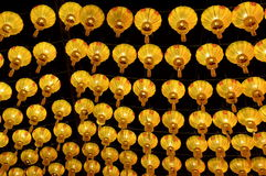 Chinese lamp, in het festival van de puntlamp in ChaingMai. Royalty-vrije Stock Foto's