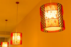Chinese lamps Royalty Free Stock Photo