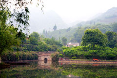 Chinese landscape Stock Photography