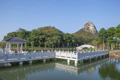 Chinese landscape garden Royalty Free Stock Photography