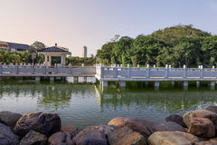 Chinese landscape garden Stock Photography