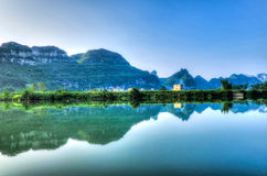 Chinese landscape scenery Stock Images
