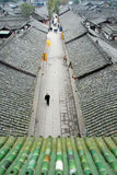 Chinese Langzhong Old Town Stock Photos