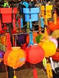 Chinese Lantaarn in Hoi, Vietnam. Royalty-vrije Stock Fotografie