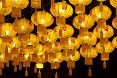 Chinese lantaarns Stock Afbeeldingen