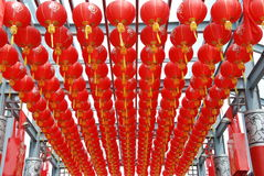 Chinese lantaarns Stock Foto's