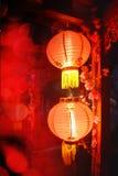 Chinese Lantaarns, Chinees Nieuwjaar stock foto's