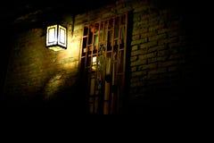 Chinese lantern. Longtime exposure at night in southwestern of China Stock Images