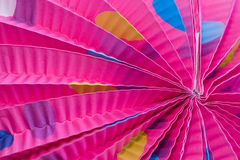 Chinese lantern. Abstract close up of a chinese lantern Royalty Free Stock Photo