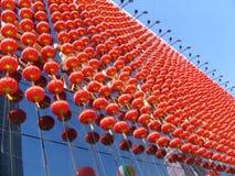 Chinese Lantern. In China Stock Photo