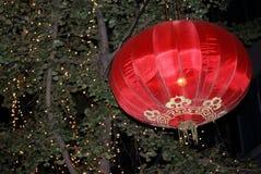 Chinese lantern. Close up, China at night Stock Image