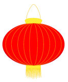 Chinese lantern. Red lanterns are a traditional part of Chinese New Year celebrations vector illustration