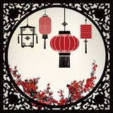 Chinese Lantern Stock Illustration