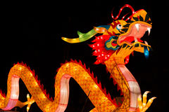 Chinese lantern, dragon. Chinese lantern shaped in the form of dragon Stock Photography