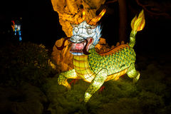 Chinese Lantern Festival-The Dragon Royalty Free Stock Image