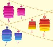 Chinese Lantern Festival Mid Autumn Festival.  Royalty Free Stock Photo