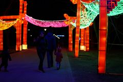 Chinese lantern festival. royalty free stock photo