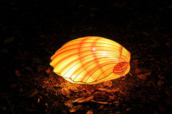 Chinese lantern festival sea shell Royalty Free Stock Images