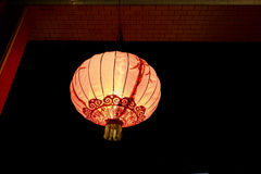 Chinese Lantern. In local temple stock photos