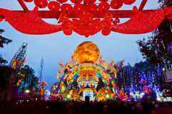 Chinese lantern modelling Royalty Free Stock Images