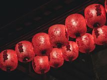 Chinese Lantern Red light hanging Event festival decoration royalty free stock image
