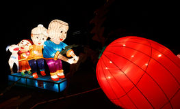 Chinese lantern Show Stock Photography