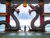 Chinese Lantern Surabaya. Chinese Lantern - Klenteng Sanggar Agung Kenjeran Surabaya royalty free stock image