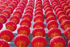 Chinese lantern tang long stock photo