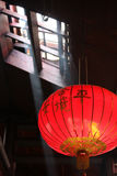 Chinese Lantern in Temple Royalty Free Stock Photos