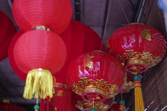 Chinese Lantern in town Royalty Free Stock Photo