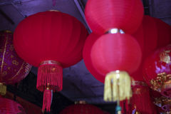 Chinese Lantern in town. Lantern for Chinese New Year in Malaysia Royalty Free Stock Photo