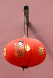Chinese lantern. Traditional chinese lantern hanging on the wall Royalty Free Stock Photography
