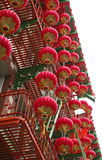 Chinese lanterns. In San Fransisco Chinatown Stock Images