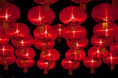 Chinese lanterns. Are hung. Lantern Festival Stock Photography