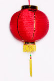 Chinese lanterns. Red chinese lanterns in white background Stock Images